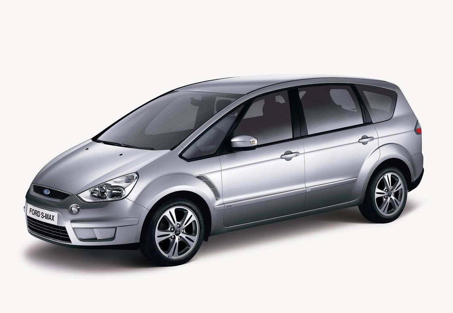Ford five-seat S-MAX Trend (China). (04/08/08)